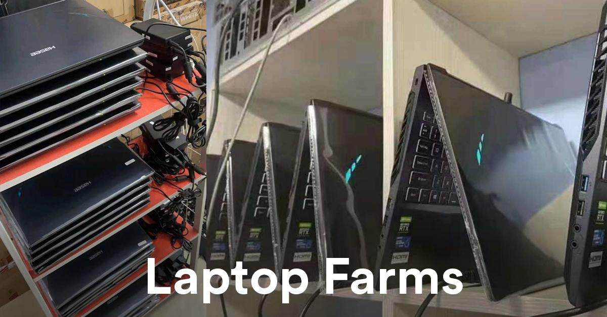Laptop Farm